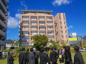神戸海洋気象台を訪問: 日本共産...